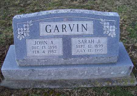 GARVIN, JOHN A. - Adams County, Ohio | JOHN A. GARVIN - Ohio Gravestone Photos