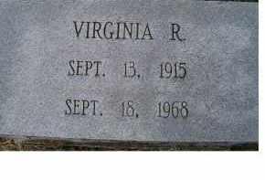 GARVIN, VIRGINIA R. - Adams County, Ohio | VIRGINIA R. GARVIN - Ohio Gravestone Photos