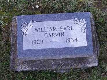 GARVIN, WILLIAM EARL - Adams County, Ohio | WILLIAM EARL GARVIN - Ohio Gravestone Photos