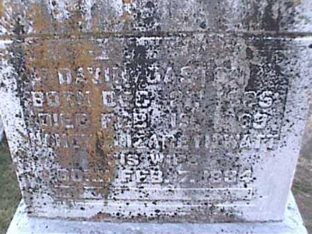 WATT GASTON, NANCY - Adams County, Ohio | NANCY WATT GASTON - Ohio Gravestone Photos
