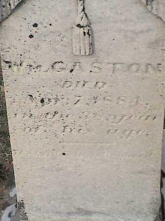 GASTON, WILLIAM - Adams County, Ohio   WILLIAM GASTON - Ohio Gravestone Photos