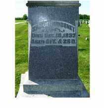 GIBBONEY, SAMUEL - Adams County, Ohio | SAMUEL GIBBONEY - Ohio Gravestone Photos