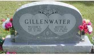 GILLENWATER, MATTIE E. - Adams County, Ohio   MATTIE E. GILLENWATER - Ohio Gravestone Photos