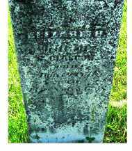 GLASGOW, ELIZABETH - Adams County, Ohio | ELIZABETH GLASGOW - Ohio Gravestone Photos