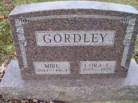 GORDLEY, CORA L. - Adams County, Ohio | CORA L. GORDLEY - Ohio Gravestone Photos