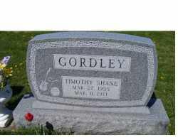GORDLEY, TIMOTHY SHANE - Adams County, Ohio | TIMOTHY SHANE GORDLEY - Ohio Gravestone Photos