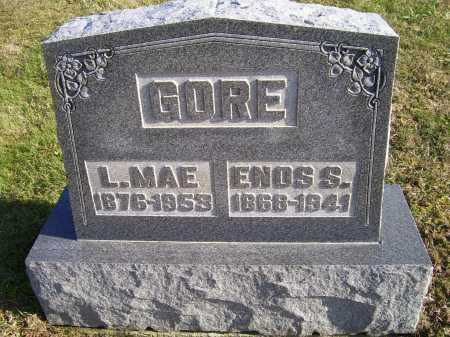 GORE, L. MAE - Adams County, Ohio | L. MAE GORE - Ohio Gravestone Photos