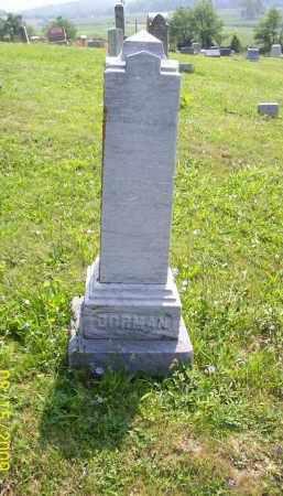GORMAN, SARAH A - Adams County, Ohio   SARAH A GORMAN - Ohio Gravestone Photos