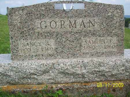 GORMAN, SAMUEL C - Adams County, Ohio | SAMUEL C GORMAN - Ohio Gravestone Photos