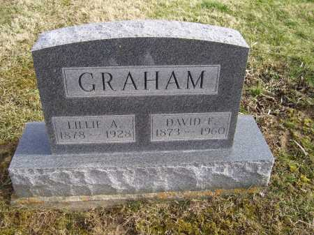GRAHAM, DAVID F. - Adams County, Ohio | DAVID F. GRAHAM - Ohio Gravestone Photos