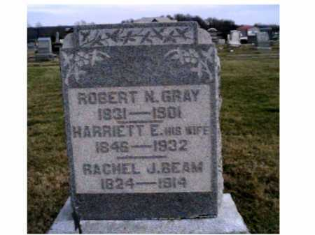 GRAY, HARRIETT E. - Adams County, Ohio | HARRIETT E. GRAY - Ohio Gravestone Photos
