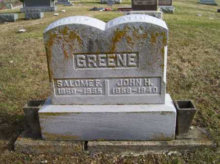 GREENE, JOHN H. - Adams County, Ohio | JOHN H. GREENE - Ohio Gravestone Photos