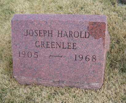 GREENLEE, JOSEPH HAROLD - Adams County, Ohio | JOSEPH HAROLD GREENLEE - Ohio Gravestone Photos