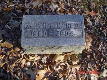 GREGG, MARY HELEN - Adams County, Ohio   MARY HELEN GREGG - Ohio Gravestone Photos
