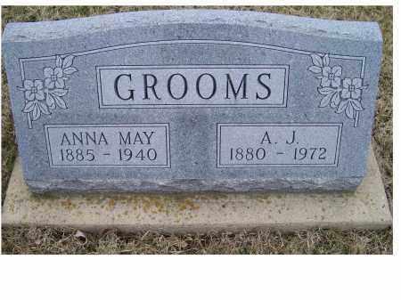 GROOMS, A.J. - Adams County, Ohio | A.J. GROOMS - Ohio Gravestone Photos