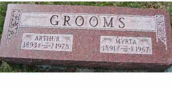 GROOMS, MYRTA - Adams County, Ohio | MYRTA GROOMS - Ohio Gravestone Photos