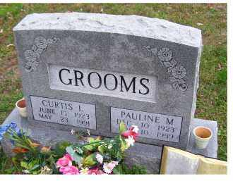 GROOMS, CURTIS L. - Adams County, Ohio | CURTIS L. GROOMS - Ohio Gravestone Photos