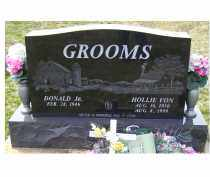 GROOMS, DONALD JR. - Adams County, Ohio | DONALD JR. GROOMS - Ohio Gravestone Photos