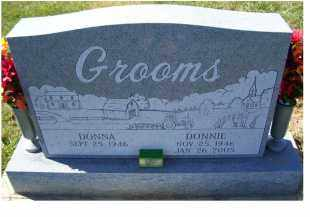 GROOMS, DONNA - Adams County, Ohio   DONNA GROOMS - Ohio Gravestone Photos