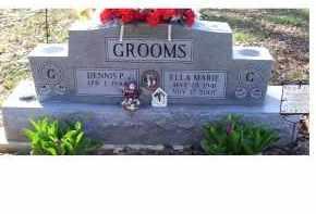 GROOMS, DENNIS P. - Adams County, Ohio | DENNIS P. GROOMS - Ohio Gravestone Photos