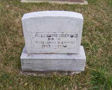 GROOMS, E. EUGENE - Adams County, Ohio | E. EUGENE GROOMS - Ohio Gravestone Photos