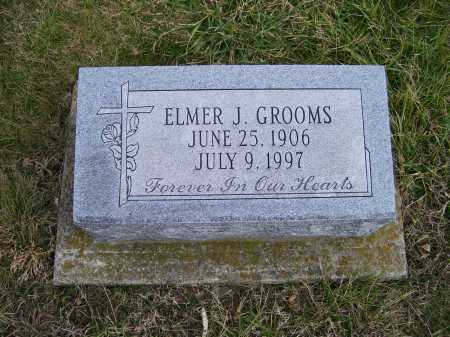 GROOMS, ELMER J. - Adams County, Ohio   ELMER J. GROOMS - Ohio Gravestone Photos