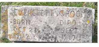 GROOMS, EVERERETT - Adams County, Ohio | EVERERETT GROOMS - Ohio Gravestone Photos