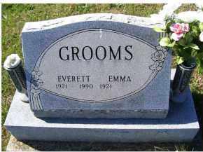 GROOMS, EVERETT - Adams County, Ohio | EVERETT GROOMS - Ohio Gravestone Photos