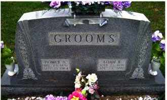 GROOMS, LOAH B. - Adams County, Ohio | LOAH B. GROOMS - Ohio Gravestone Photos