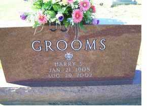 GROOMS, HARRY S. - Adams County, Ohio | HARRY S. GROOMS - Ohio Gravestone Photos