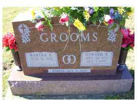 GROOMS, MARTHA B. - Adams County, Ohio   MARTHA B. GROOMS - Ohio Gravestone Photos