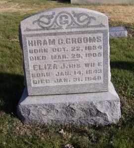 GROOMS, ELIZA J. - Adams County, Ohio | ELIZA J. GROOMS - Ohio Gravestone Photos