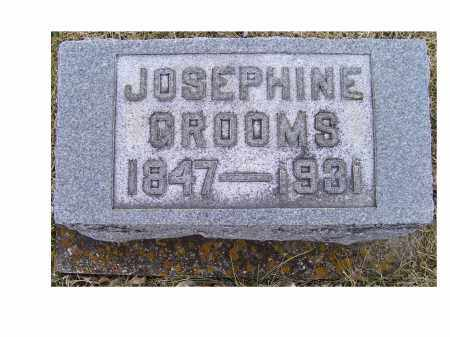 GROOMS, JOSEPHINE - Adams County, Ohio | JOSEPHINE GROOMS - Ohio Gravestone Photos
