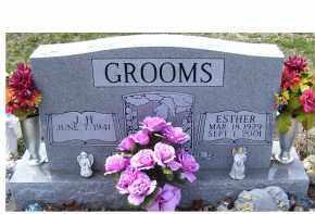 GROOMS, ESTHER - Adams County, Ohio   ESTHER GROOMS - Ohio Gravestone Photos