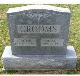 GROOMS, JACOB - Adams County, Ohio | JACOB GROOMS - Ohio Gravestone Photos