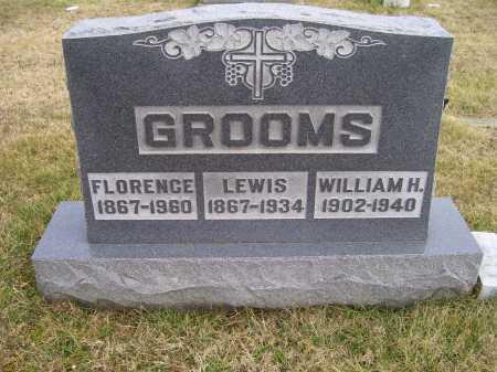 GROOMS, WILLIAM H. - Adams County, Ohio | WILLIAM H. GROOMS - Ohio Gravestone Photos