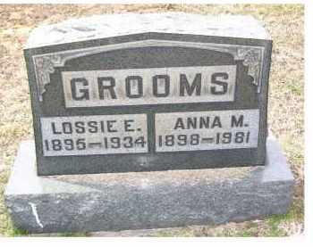 GROOMS, ANNA M. - Adams County, Ohio   ANNA M. GROOMS - Ohio Gravestone Photos
