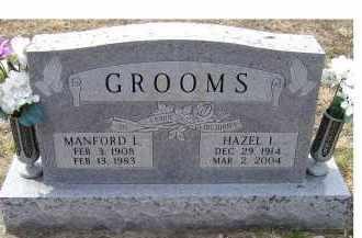GROOMS, HAZEL L. - Adams County, Ohio | HAZEL L. GROOMS - Ohio Gravestone Photos