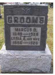 GROOMS, LYDIA A. - Adams County, Ohio   LYDIA A. GROOMS - Ohio Gravestone Photos