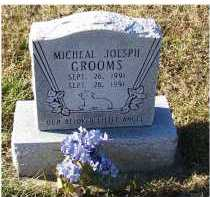 GROOMS, MICHEAL JOSEPH - Adams County, Ohio   MICHEAL JOSEPH GROOMS - Ohio Gravestone Photos