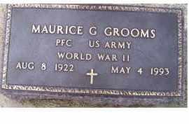 GROOMS, MAURICE G. - Adams County, Ohio | MAURICE G. GROOMS - Ohio Gravestone Photos