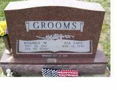 GROOMS, IDA FAYE - Adams County, Ohio | IDA FAYE GROOMS - Ohio Gravestone Photos