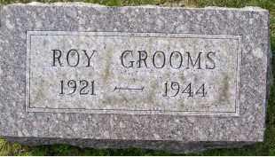 GROOMS, ROY - Adams County, Ohio   ROY GROOMS - Ohio Gravestone Photos