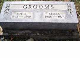 GROOMS, ROY E - Adams County, Ohio   ROY E GROOMS - Ohio Gravestone Photos