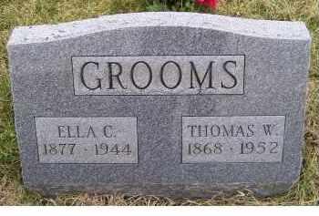 GROOMS, ELLA C. - Adams County, Ohio | ELLA C. GROOMS - Ohio Gravestone Photos