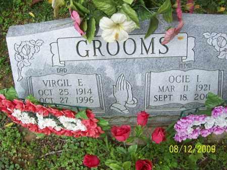 GROOMS, VIRGIL E - Adams County, Ohio | VIRGIL E GROOMS - Ohio Gravestone Photos