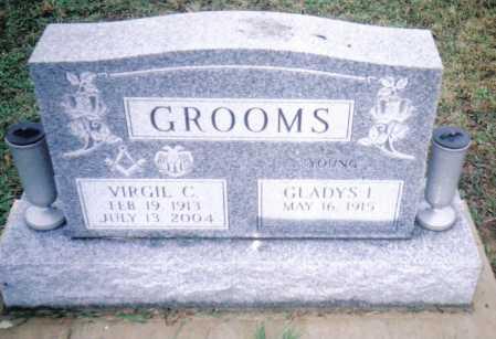 GROOMS, VIRGIL C. - Adams County, Ohio   VIRGIL C. GROOMS - Ohio Gravestone Photos