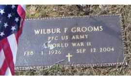 GROOMS, WILBUR F. - Adams County, Ohio   WILBUR F. GROOMS - Ohio Gravestone Photos