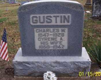 LYON GUSTIN, CYRENE - Adams County, Ohio | CYRENE LYON GUSTIN - Ohio Gravestone Photos