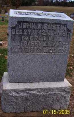 GUSTIN, JOHN B. - Adams County, Ohio   JOHN B. GUSTIN - Ohio Gravestone Photos